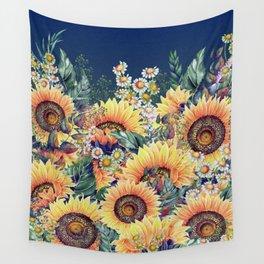 Summer Garden 1 Wall Tapestry