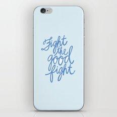 Fight the Good Fight III iPhone & iPod Skin