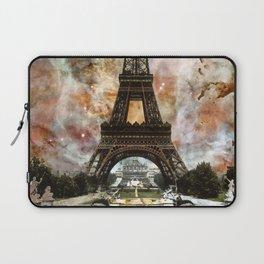 The Eiffel Tower - Paris France Art By Sharon Cummings Laptop Sleeve