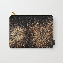 Gold Fireworks Carry-All Pouch