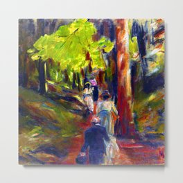 Max Liebermann Forest Walk Metal Print