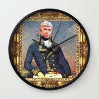 arsenal Wall Clocks featuring Marshal Arsene Wenger by Iconografia