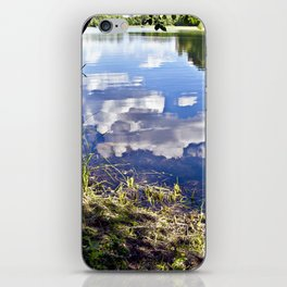 Summer Sky is touching water ground iPhone Skin