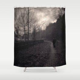 Last Alone Shower Curtain