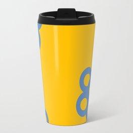 blue marigold Travel Mug