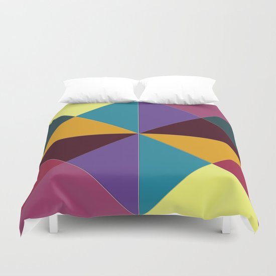 Abstract #310 Duvet Cover