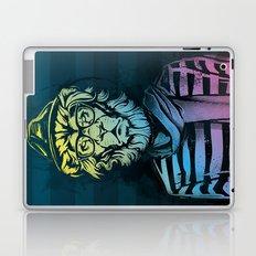 Hipster Lion Black and White Laptop & iPad Skin