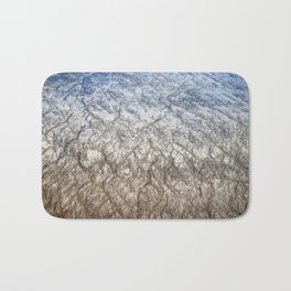 Lines In the Sand Bath Mat