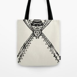 St. Andrew's Cross Spider Tote Bag