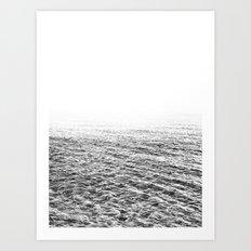 Ocean BW Art Print