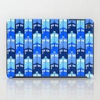 tardis iPad Cases featuring Tardis by Casual Glitz
