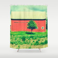 Nicholson barn (2)  Shower Curtain