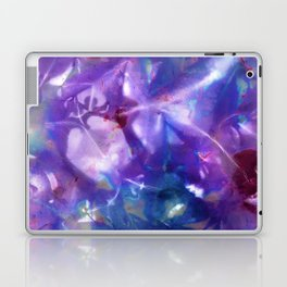 Blue Stargazer Floral Laptop & iPad Skin