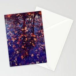 Last days of autumn - Life and death in Nature - Fine Art Conceptual Photography Stationery Cards