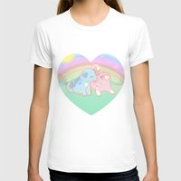 puppies T-shirts featuring Puppies in love by Fufunha