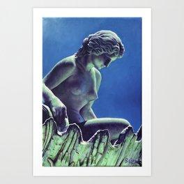 La Venus de Lola Mora Art Print