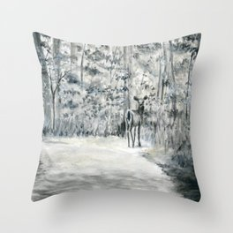 Follow Me by Teresa Thompson Throw Pillow