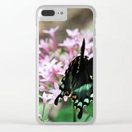 Spicebush Swallowtail Clear iPhone Case