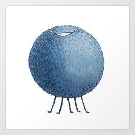 Poofy Moofus Art Print