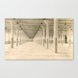 Moved Out Canvas Print