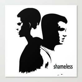 Shameless Ian Gallagher and Mickey Milkovich Canvas Print