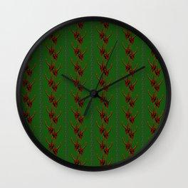 Season's Greetings from the Krampus Wall Clock