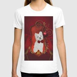 Cute little maltese puppy T-shirt