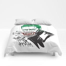 Joker_Jared Leto_Suicide Squad Comforters