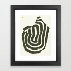 Burnt Mountain — Matthew Korbel-Bowers Framed Art Print