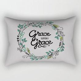 Grace Upon Grace Rectangular Pillow