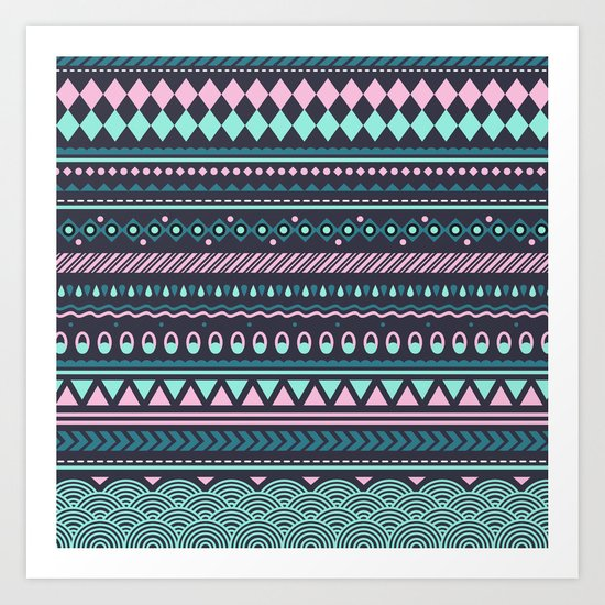 Modern Pattern Art Print