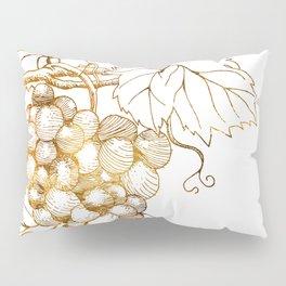 Grapes of Dionysus God of Wine Pillow Sham
