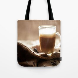 My Coffee in the morning Tote Bag