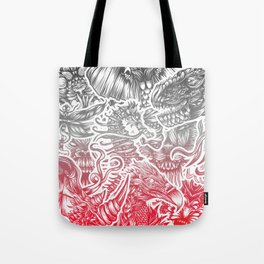 Animals color Tote Bag