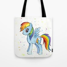 Rainbow Dash MLP Pony Tote Bag