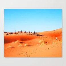 No Desert Heartbeats Canvas Print