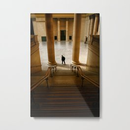 Groove of the Urban Gadabout - Chicago Union Station Metal Print