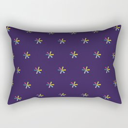 Flower Wheel Rectangular Pillow