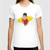 seinfeld T-shirts featuring kramer from seinfeld by Nick Dauphin