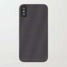 Soft Parisian Stripes iPhone Case