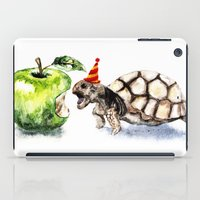 turtle iPad Cases featuring Turtle by Anna Shell