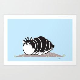Kittypillar Art Print