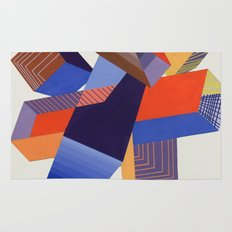 Geometric Painting by A. Mack Rug