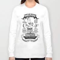 boxing Long Sleeve T-shirts featuring Vintage Boxing by T-SIR | Oscar Postigo