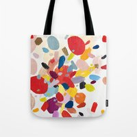 study Tote Bags featuring Color Study No. 2 by Emily Rickard