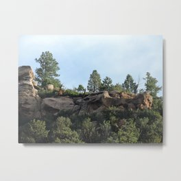 Colorado Bluffs Metal Print