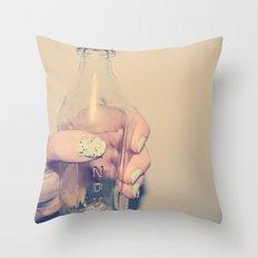 PYREX Throw Pillow
