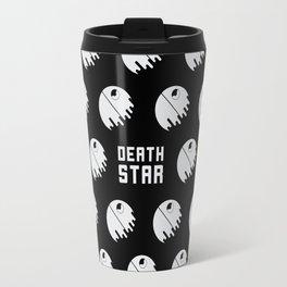 Minimalist Death Star pattern Travel Mug