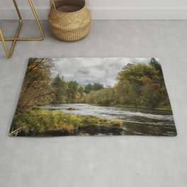 Fall on the McKenzie River Rug