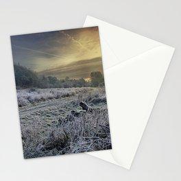 Frosty Meadow Stationery Cards
